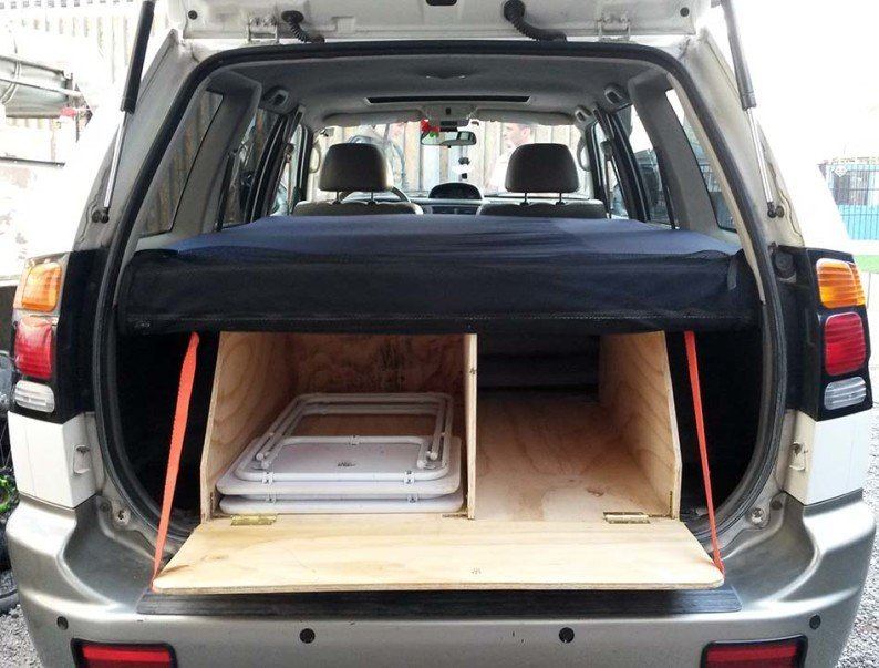 How To Convert A Suv Wagon Into A Camper The Cheap And